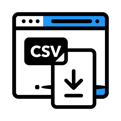 Eliminate exporting CSV files