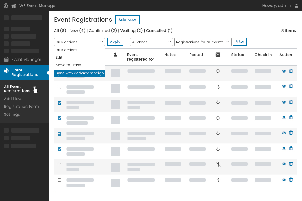 Improved synchronisation brings you closer to your registered users