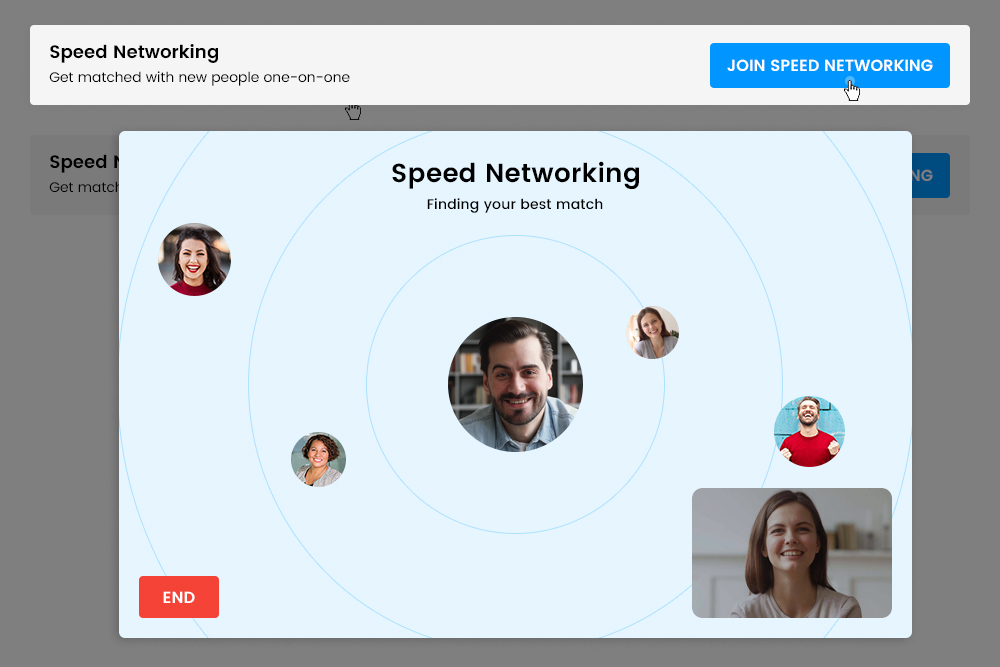 One on One Speed Networking