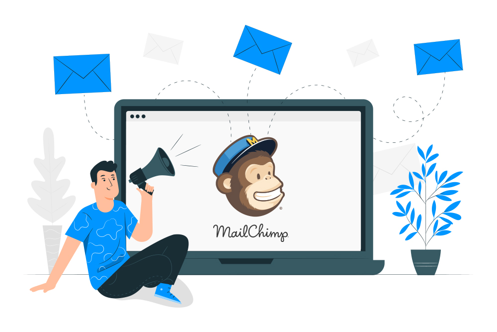 Create Campaigns and Send email newsletters from Your Mailchimp Platform.