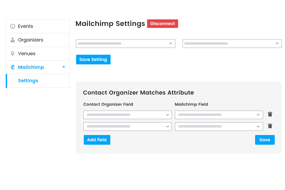 Automatic Sync Contact organizer Information