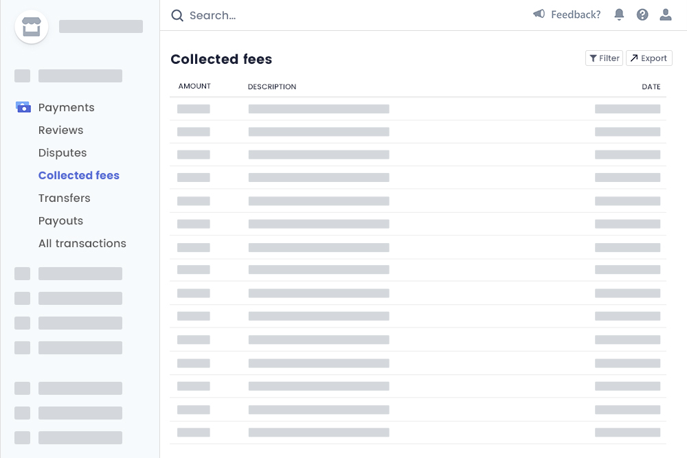 Fees Collection At  Platform Owner Stripe Account