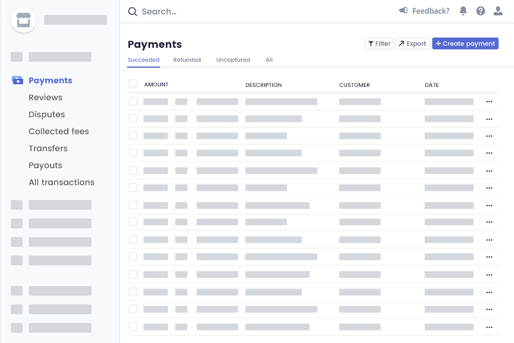 Payments At Organizer Stripe Account