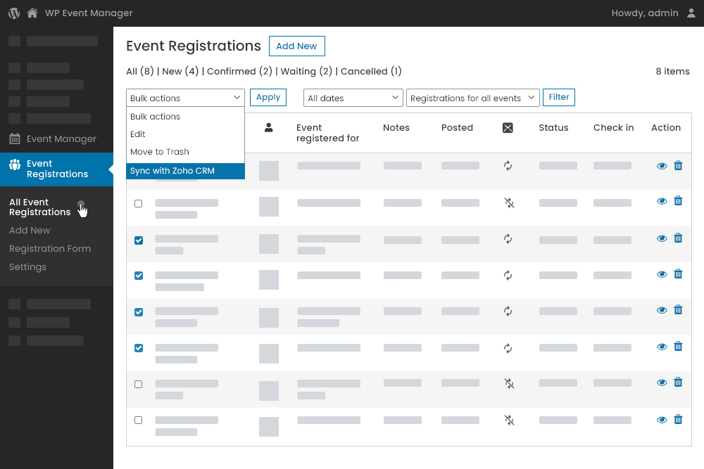 Improved synchronization brings you closer to your registered users