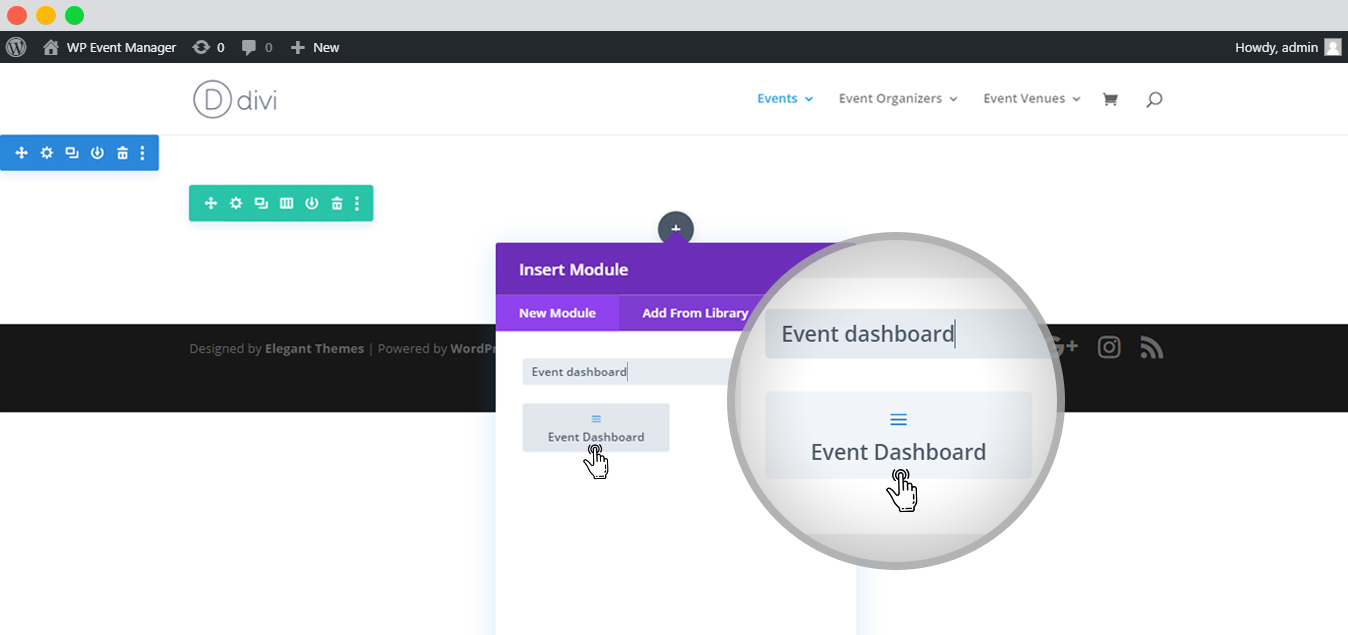 Build Your Event Listing Page