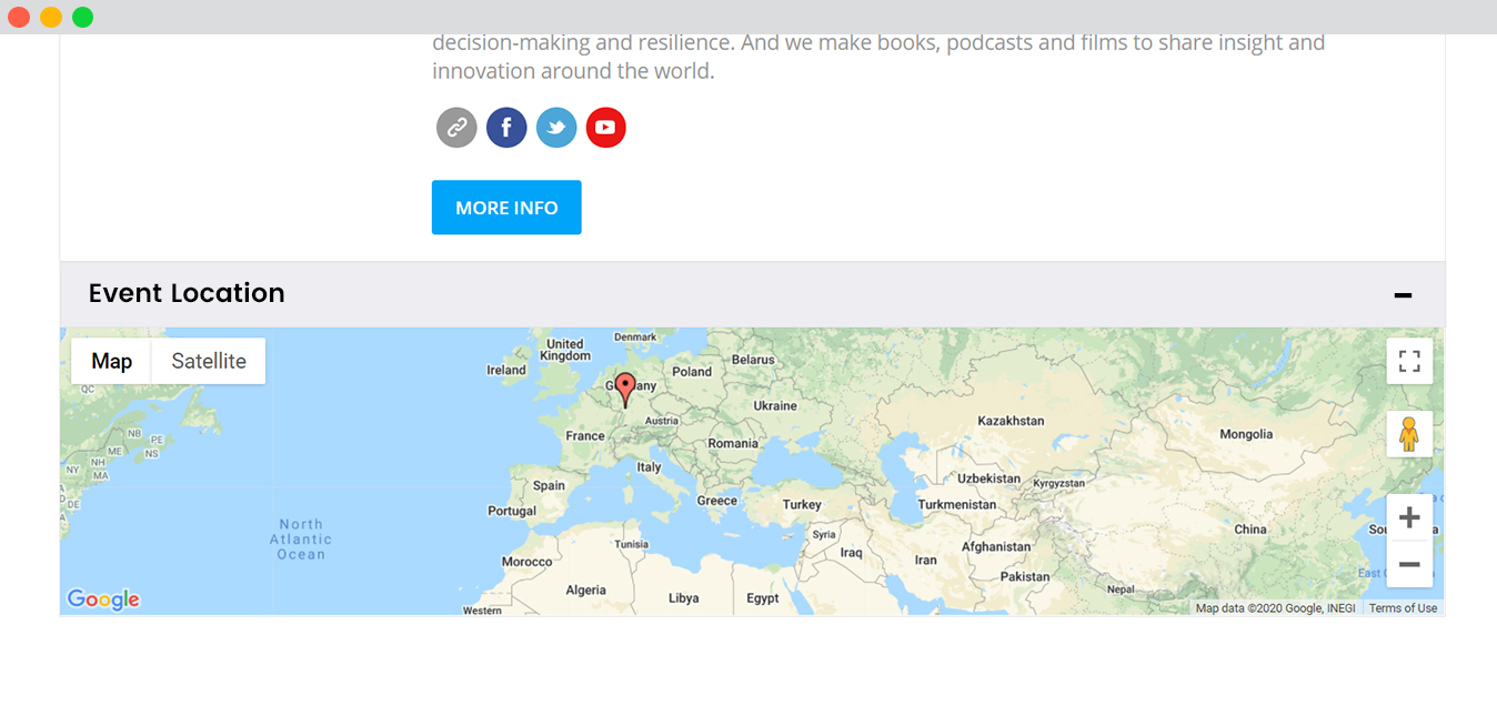 WPEM Google maps