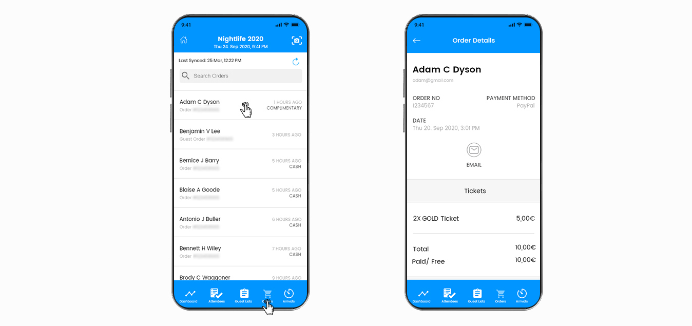 WP Event Manager Mobile App 6