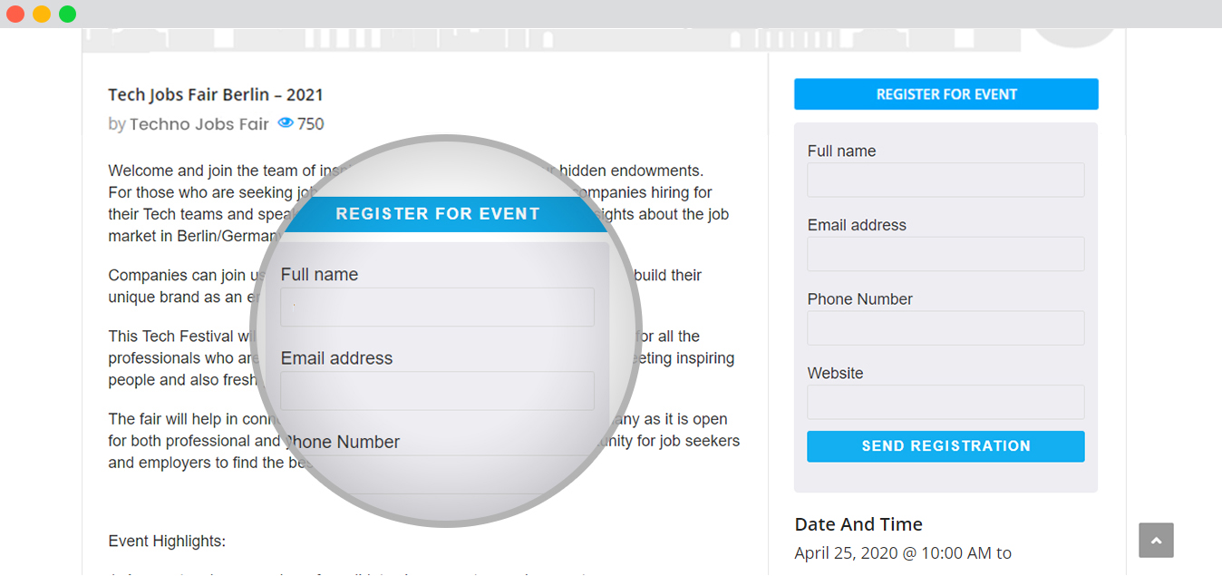 WPEM Registrations