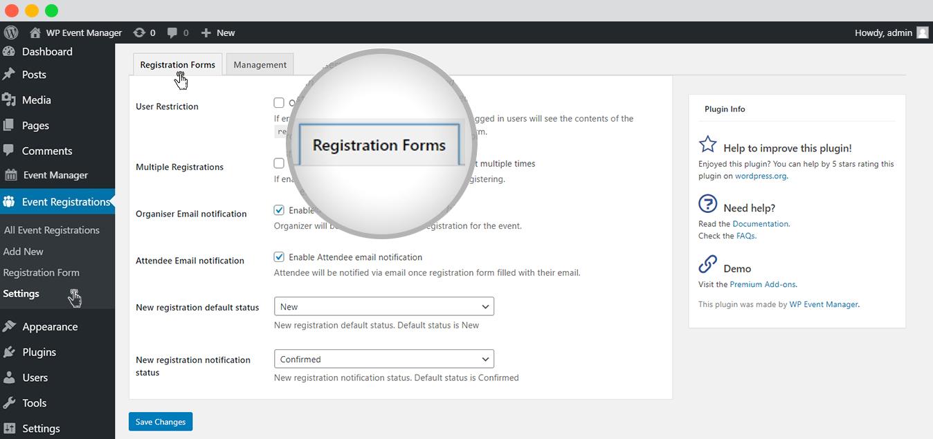 WPEM Registration