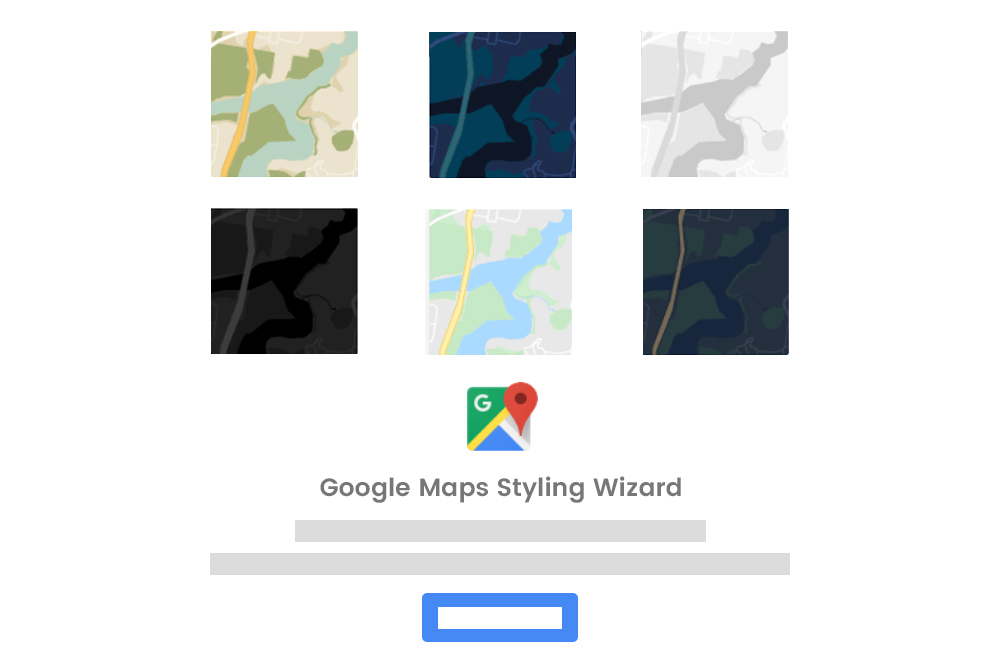 Google Map Styling Wizard