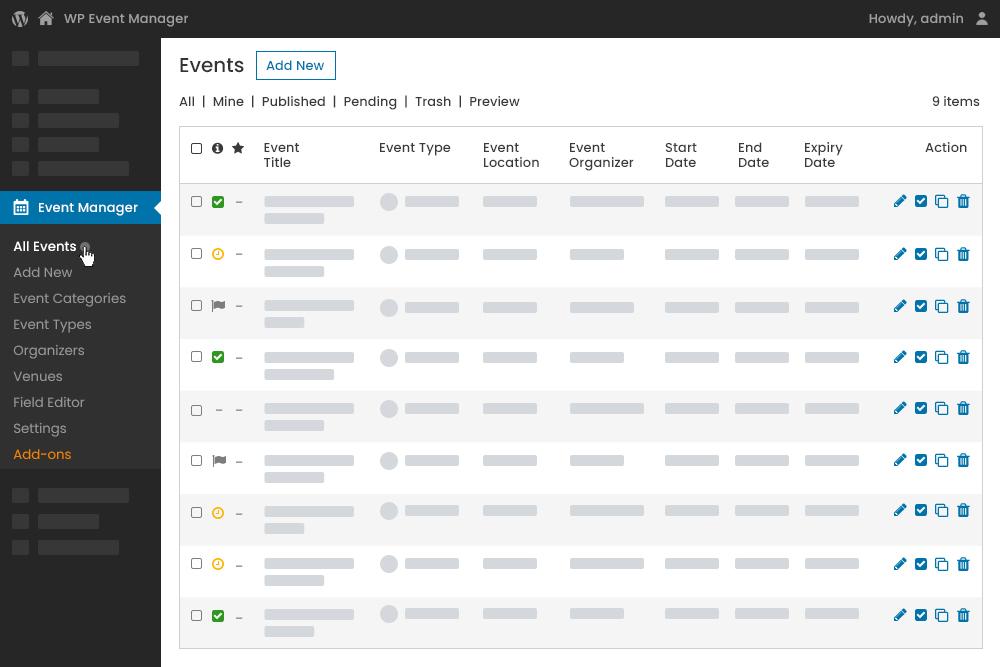 User-Friendly Admin Panel Interface