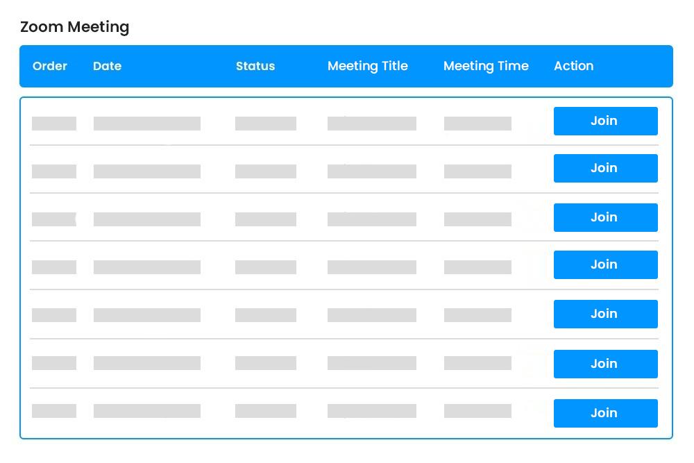 Zoom Meetings Linking with WooCommerce Orders