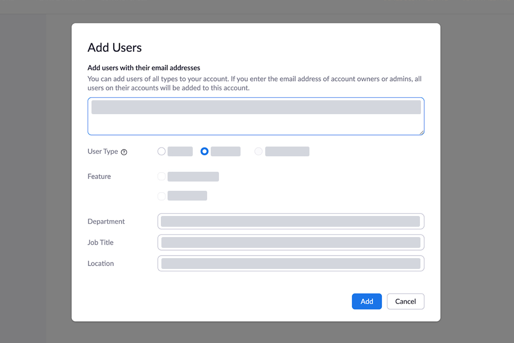 Added New Users at Zoom Server Auto Sync with WordPress