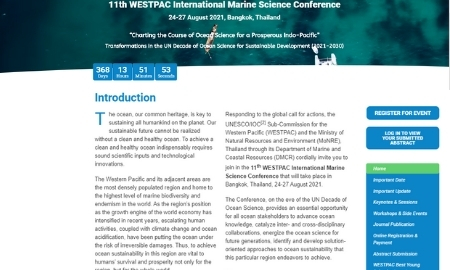 11th WESTPAC International Marine Science Conference