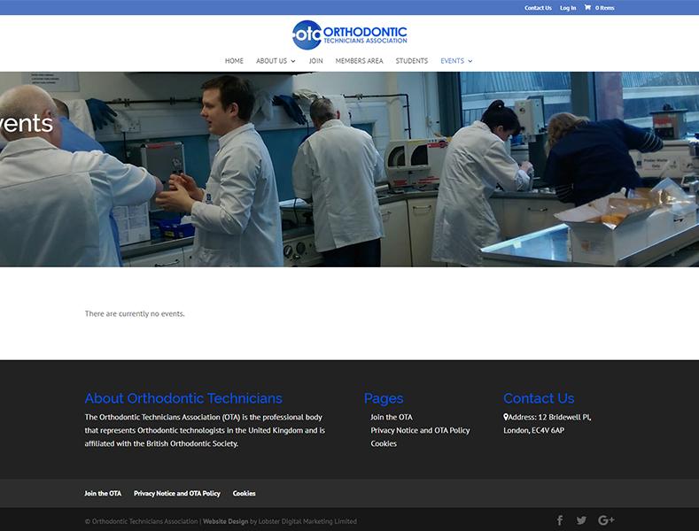Orthodontic Technicians Association (UK)