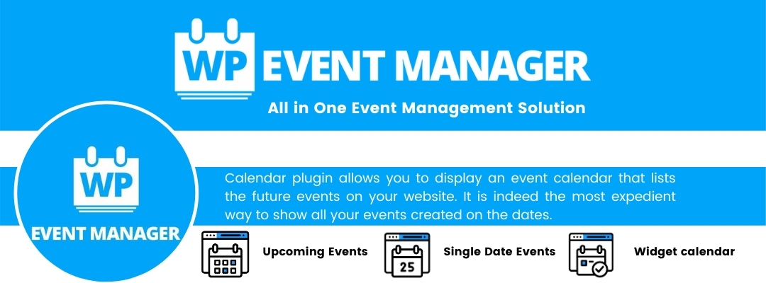 WP Event Manager's Event Calendar Plugin