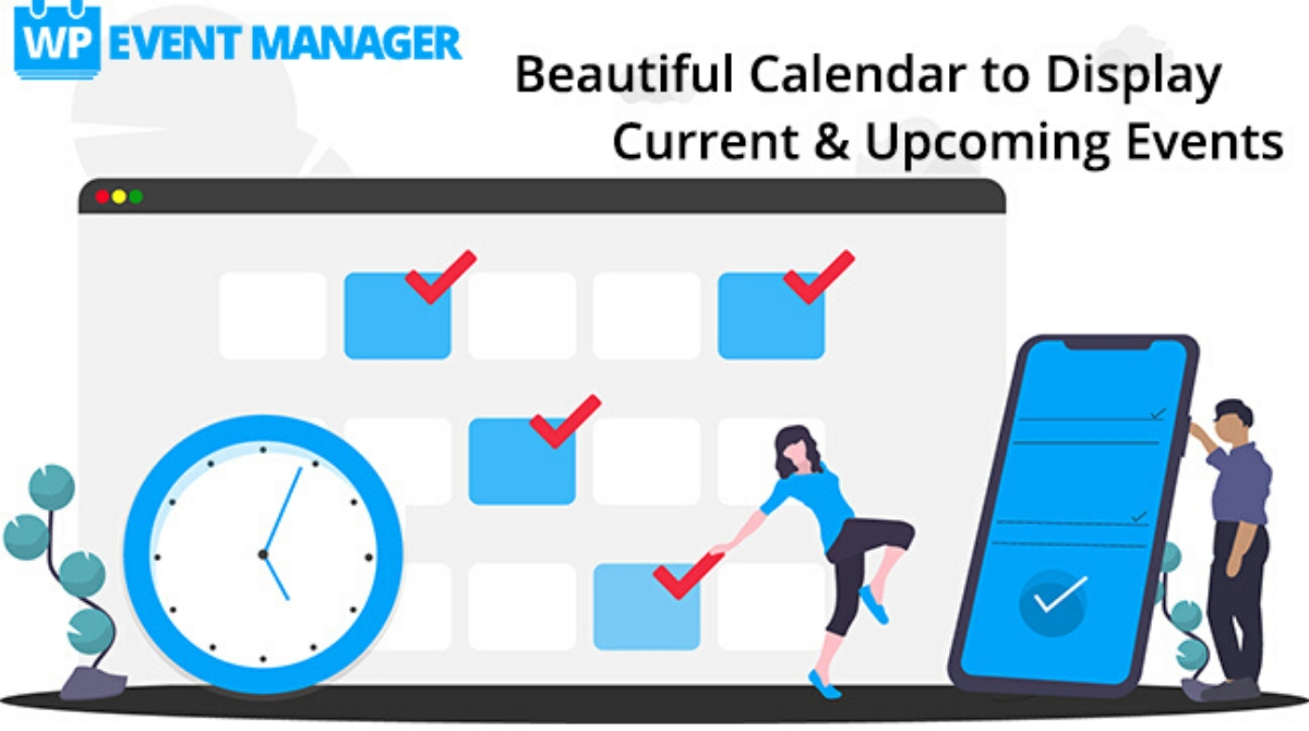 Display your Current & Upcoming Events on a Beautiful Calendar