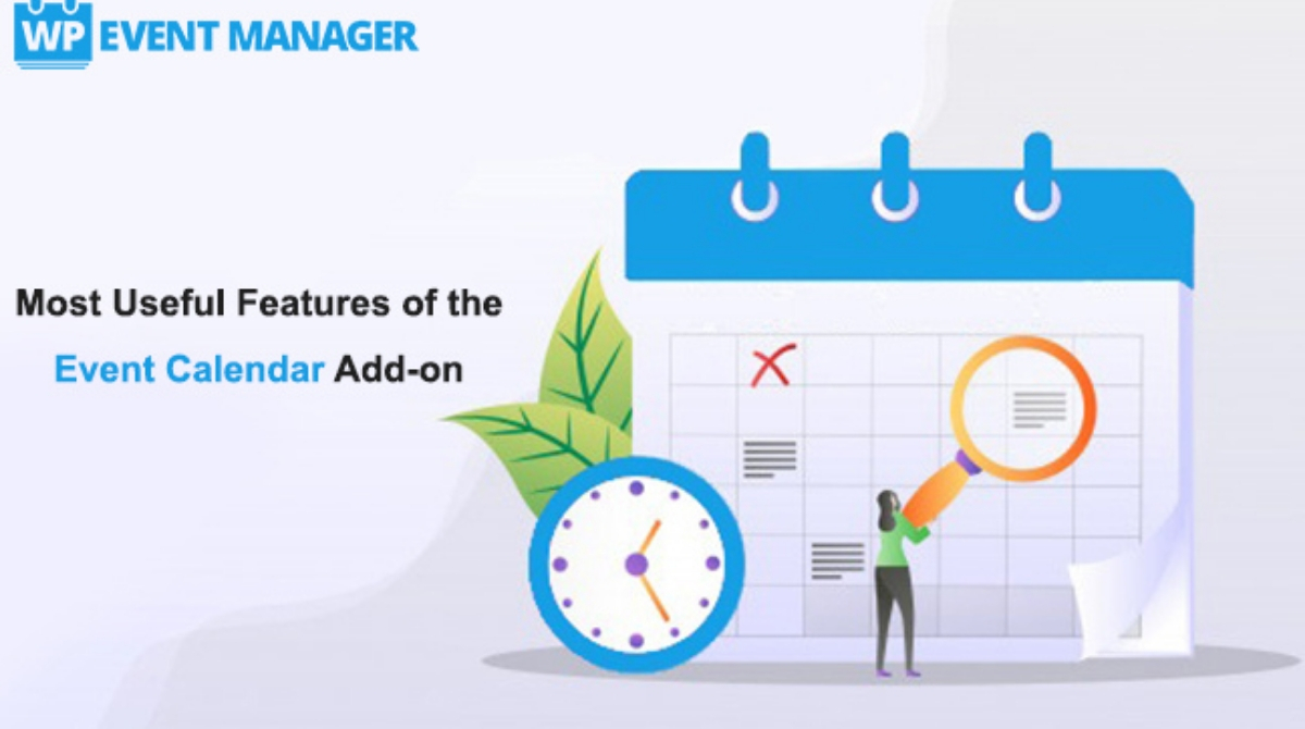Most Useful Features of the Event Calendar Add-on