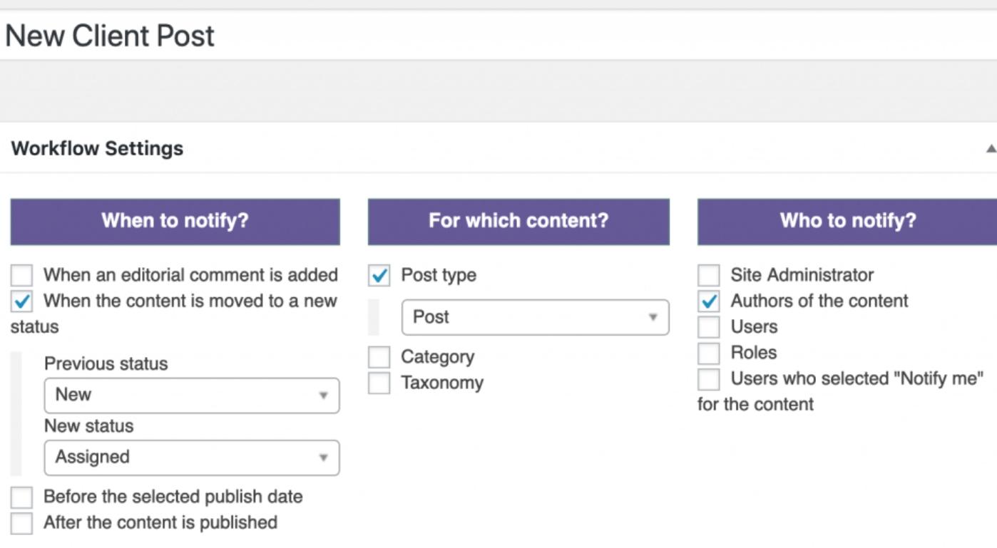Custom Statuses in WordPress 12