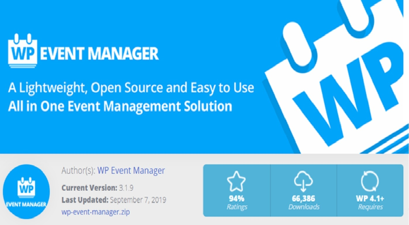 Event manager registration with wp event manager