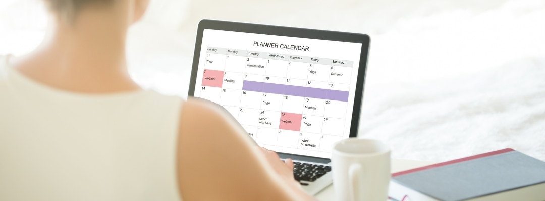 Managing Online Business Clients with an Online Calendar