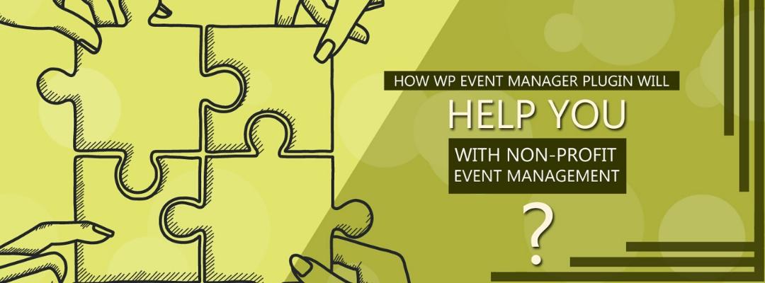 Non-Profit Event Management 3