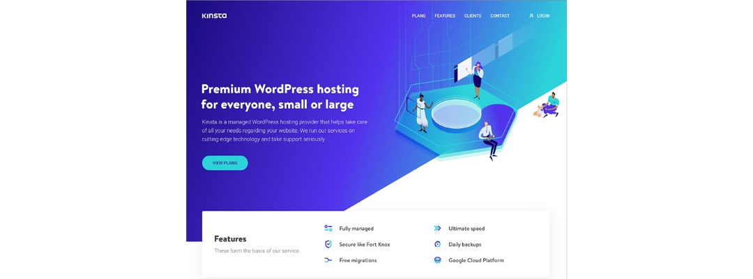 Kinsta Managed WordPress Hosting Benefits