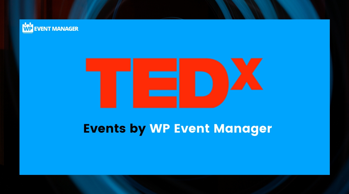 Tedx Events by New WP Event Manager