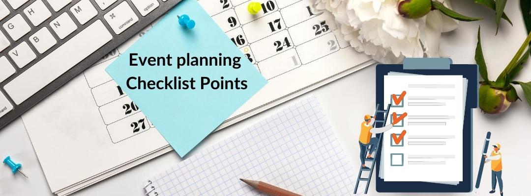 Virtual Event Planning Checklist