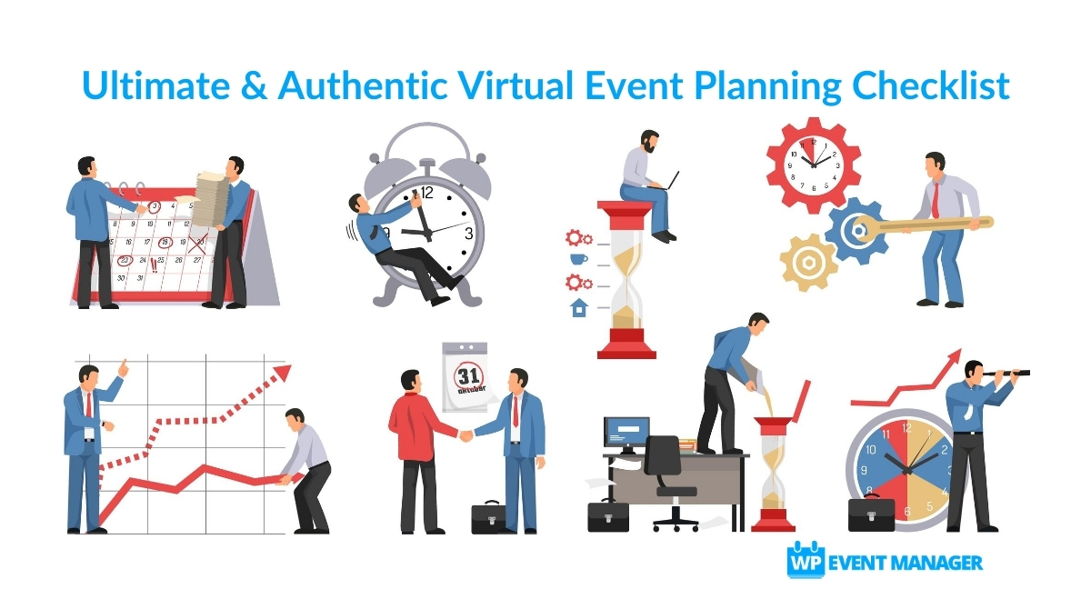 Ultimate & Authentic Virtual Event Planning Checklist