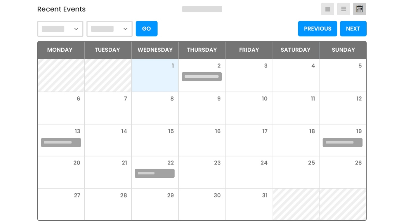 How to use the event calendar plugin