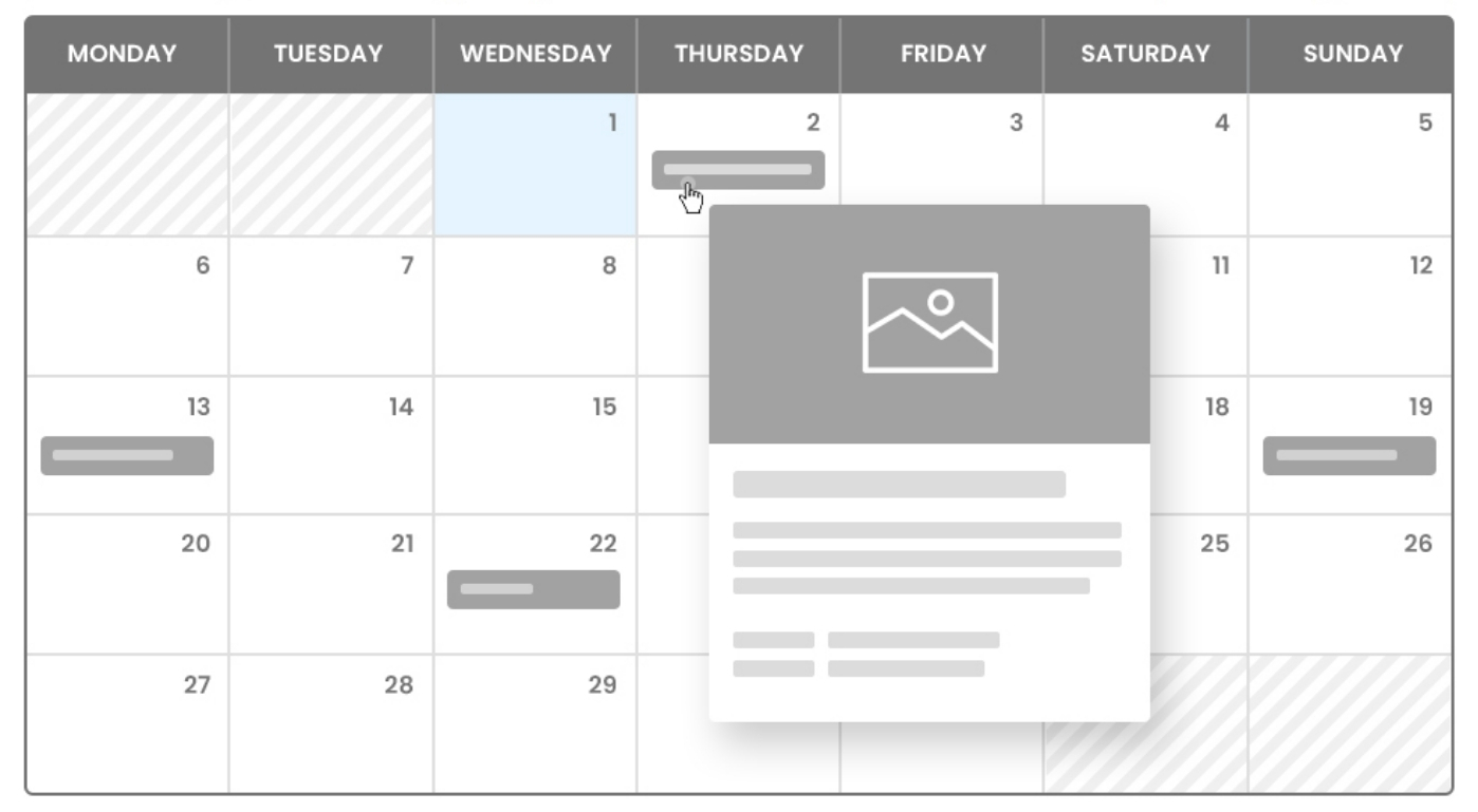 WP Event Manager's Events Calendar Plugin