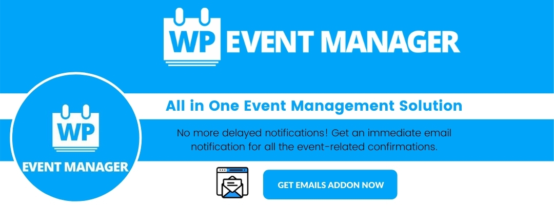 Engaging Email by WP Event Manager