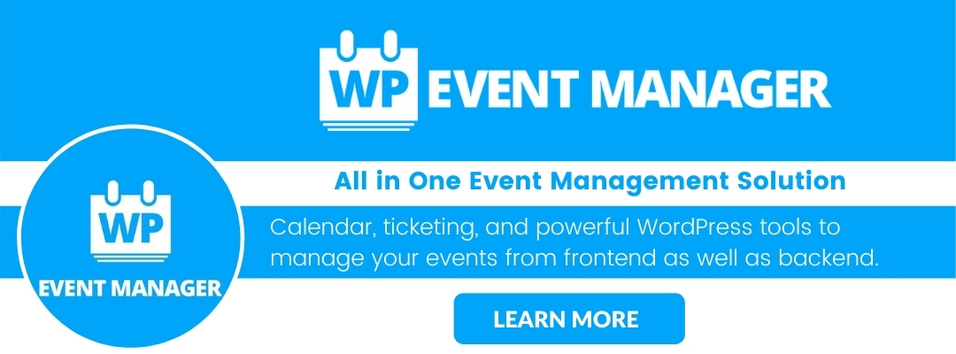Brand Your Events in 2021 with WP Event Manager