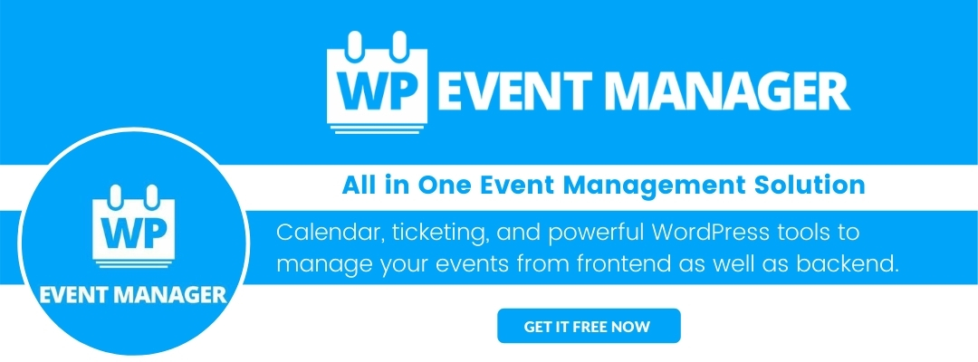 Event Timeline By WP Event Manager