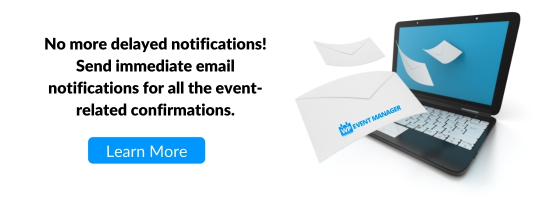 Email Communication with WP Event Manager