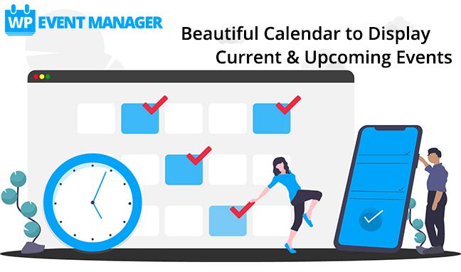 WP Event Manager Calendar