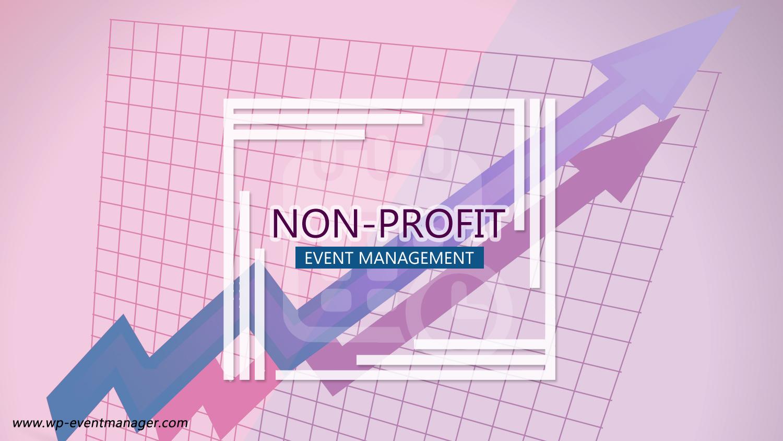Non-profit event management